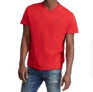 Ralph Lauren V-neck T-shirt Small